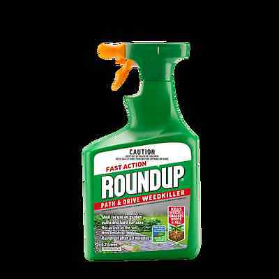 Roundup 1.2L Path and Drive Fast Action Weedkiller
