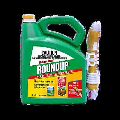 Roundup 5L Regular Pull N'Spray Ready To Use Weedkiller
