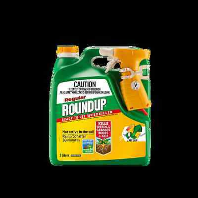 Roundup 3L Ready To Use Weedkiller