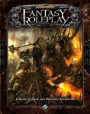 FFG Warhammer Fantasy Roleplay Core Set 3rd Edition Brand New WFRP RPG Sealed