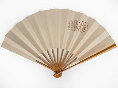 Antique Vintage Japanese 'Sensu' Folding Fan from Kyoto: NovI