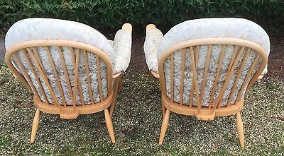 Outstanding Pair Of Ercol Lounge Chairs - Clean Condition, We Deliver