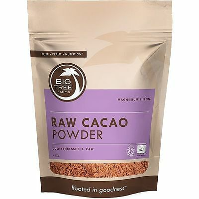 Big Tree Organic Raw Cacao Powder 100g