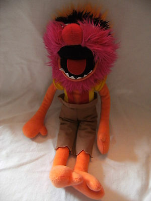 The Muppets ANIMAL Soft Toy 18 inches VGC