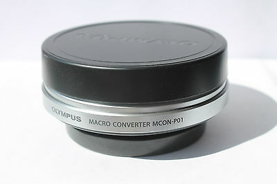 OLYMPUS 14-42mm II R MSC MCON-PO1 MACRO CONVERTER LENS {Also 40-150 and 14-150]