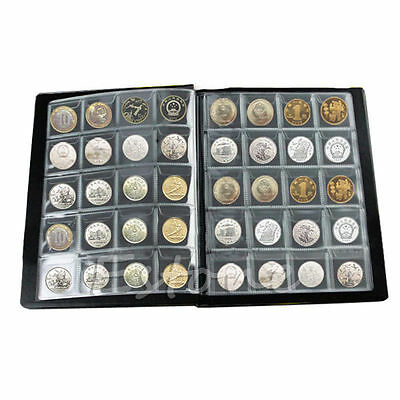 275 Coin Storage Book Holder Collection Money Penny Album Collecting Pockets Hot