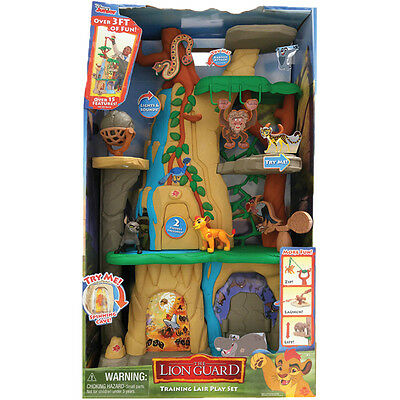 Disney Lion Guard Training Lair Playset NEW