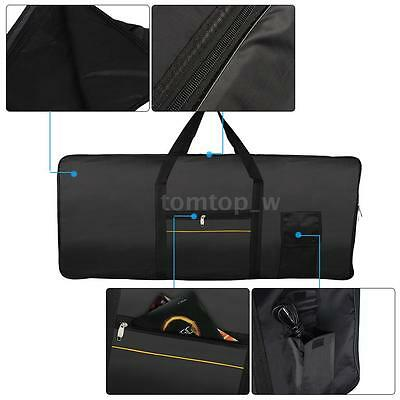 420D 61-Key Keyboard Electric Piano Padded Case Gig Bag Oxford Cloth New J8E8