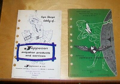 Jeppesen Computer Model R-2 Jepco Briefing Booklet + Products Catalogue 1959