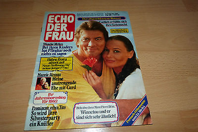 Echo der FrauHeft 1 29.12.1981  Winnetou/Wencke Myhre