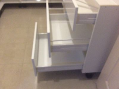 Hafele 600mm 3 Drawer Cabinet with Drawer Fronts