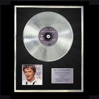 Rod Stewart The Great American Songbook  Cd Platinum Disc Free P+P!!