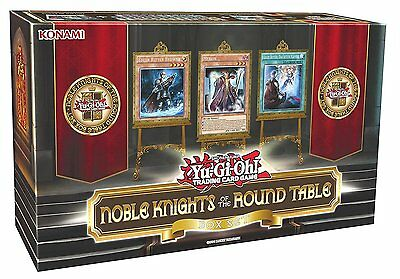 Yu-Gi-Oh Noble Knights Round Table Box---Neu und OVP---TOP!