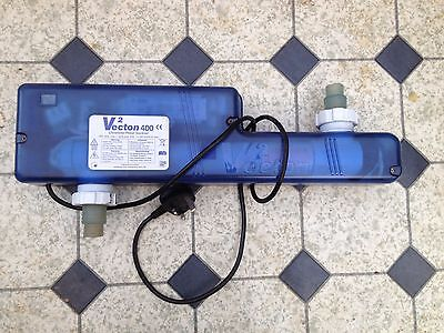 TMC Vecton(V2) 400 ultraviolet water steriliser aquarium fish tank/max.1300l/h