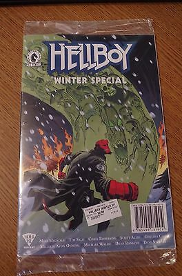 HELLBOY Winter Special Fried Pie Exclusive Cover by Mike Mignola Dark Horse