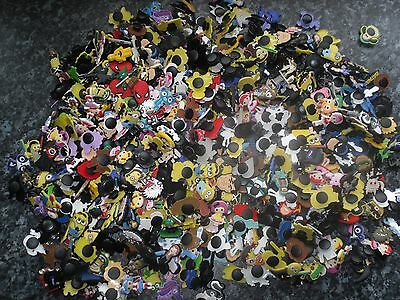 Lot of 30 jibbitz mixed boys & girls crocs wrist band shoe charms cake toppers