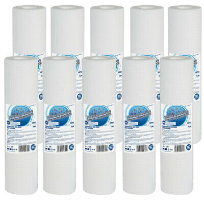 """10pk 20 Micron Sediment Water Filter 10"""" ideal for Reverse Osmosis"""