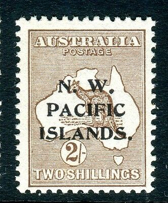 AUSTRALIA NEW GUINEA- 1915 2/- Brown.  An unmounted mint example Sg 91