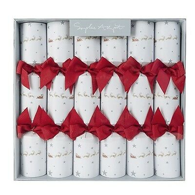 SOPHIE ALLPORT SIX LUXURY CHRISTMAS CRACKERS - Starry Night