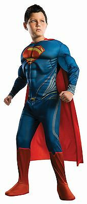 New Muscle Chest Deluxe Superman Costume Boys Toddler 2-4