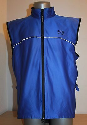Gore Bike Wear Waistcoat Vest Dark Blue/Black  GORE WINDSTOPPER Size XL