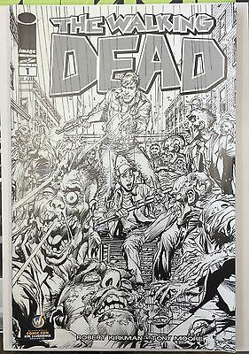 WALKING DEAD #1 New York NYC Wizard World Comic Con Exclusive Variant Sketch