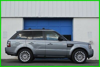 2012 Land Rover Range Rover Sport HSE Navigation Leather Heated HK Audio Loaded Save Repairable Rebuildable Salvage Runs Great Project Builder Fixer Easy Cosmetic