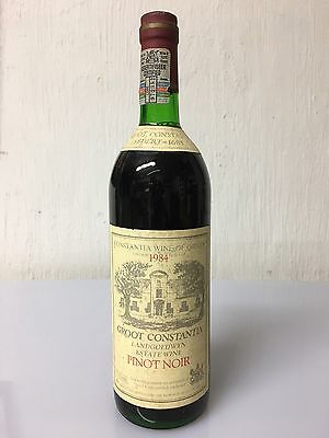Groot Constantia Vintage 1984 Pinot Noir Wine Of South Africa 75cl
