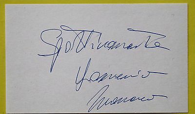 Boxing: Dominick Monaco Autographed Card