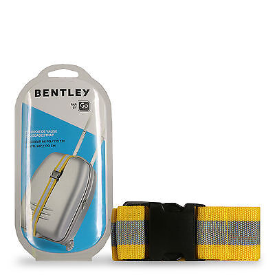 Bentley Go Luggage Strap Yellow