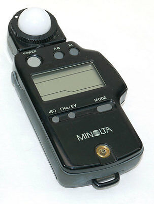 MINOLTA AUTO METER V F Ambient Flash Light Meter from Japan WORKS GREAT!