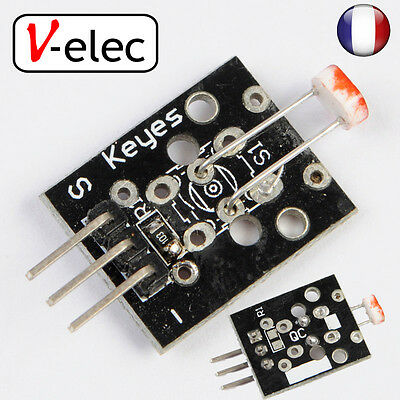 1009# KY-018 photosensitive sensor module light module arduino