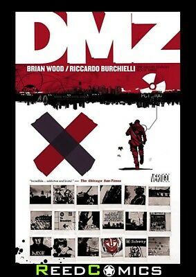 DMZ DELUXE EDITION BOOK 3 HARDCOVER Brian Wood New Hardback Collects #29-44