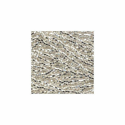 Czech Seed Beads 8/0 Silver Lined Crystal Clear 31440 (6 strand hank) Glass