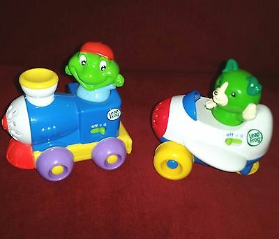 Leap Frog Scout & Tad Talking Airplane and Train Engine