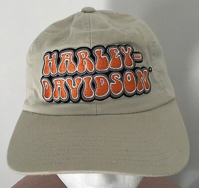 Harley-Davidson Embroidered Strapback Hat Official Licensed American Needle