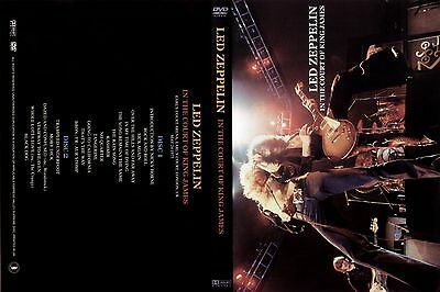 Led Zeppelin. 1975. Earls Court First Night. Awesome Pro - Shot. 2 Dvd.
