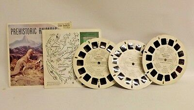 View Master B-619 Pre-Historic Animals With Booklet