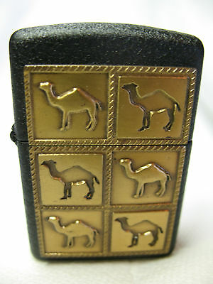 Zippo Raised And Lowered 6 Camel Lighter