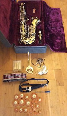 Alto Saxophone La Fleur by Boosey and Hawkes Immaculate Condition