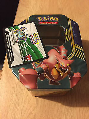 Volcanion Battle Hearts Tin & Online Code - Pokemon Trading Card Game