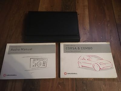Vauxhall Corsa C Owners Handbook Manual Wallet Set 2003-2006 * Facelift
