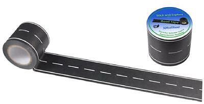 "Road Pattern Tape for Toy Cars, 50''x1.85"", Easy Peel, No Residue"