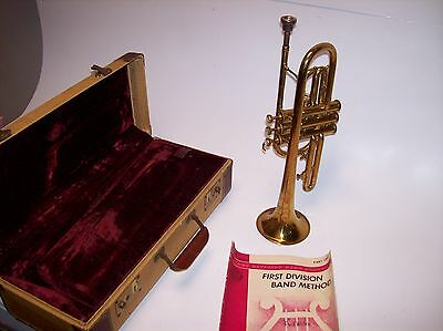 old vintage olympian CORNET made in GERMANY