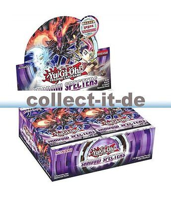 Yugioh - Shadow Specters - 1 Display (24 Booster) - Deutsch - 1. Auflage