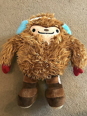 Official Olympic 2010 Vancouver Quatchi Winter Olympic Mascot Soft Plush, VGC