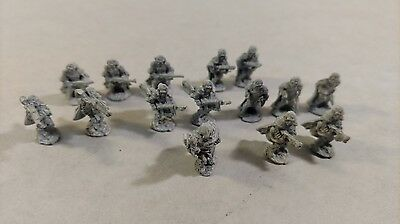 15mm Sci-Fi Striker/Laserburn Redemptionist Soldiers x15 - Classic/Rare