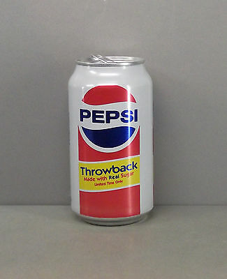 Pepsi Empty 12oz. Pop / Soda Can - Throwback