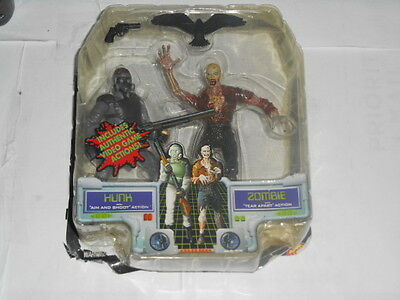Resident Evil 3 Hunk / Zombie Action Figures
