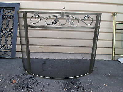 56578   Fireplace Mantle Fire Screen QUALITY
